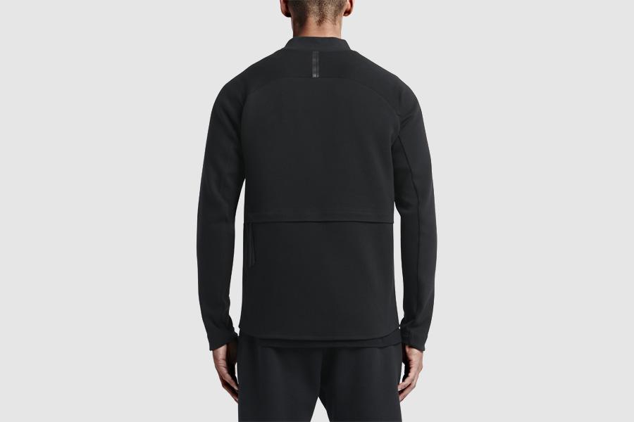 NikeLab Transform Jacket — pánská sportovní bunda — černá — dvojitá bunda