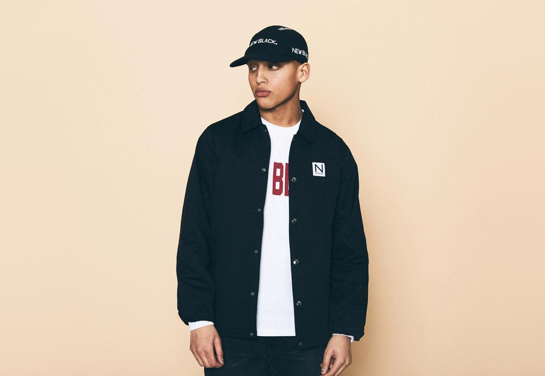 New Black — černá jarní/letní bunda — pánská