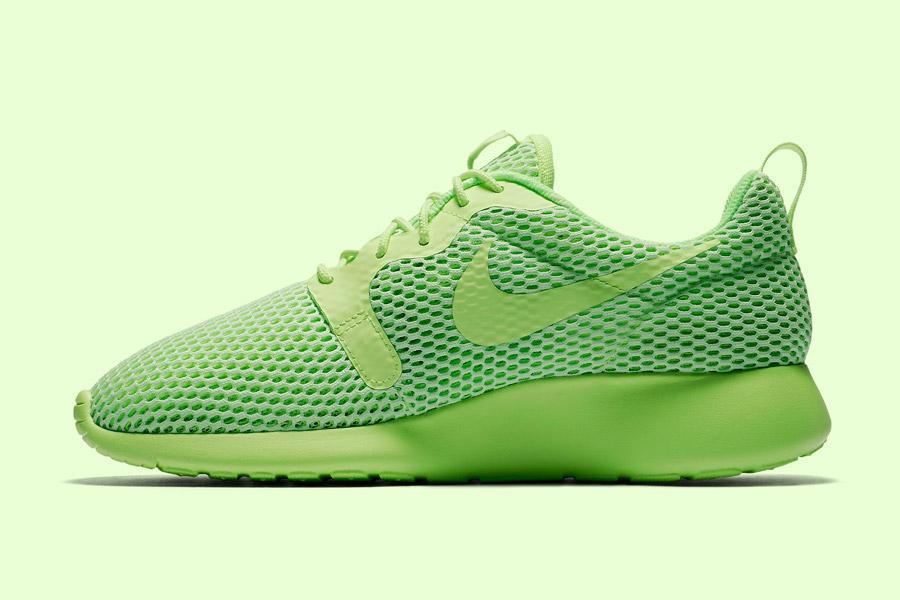 Nike Roshe One Hyper Breathe — dámské tenisky, boty — zelené, green — běžecké sneakers