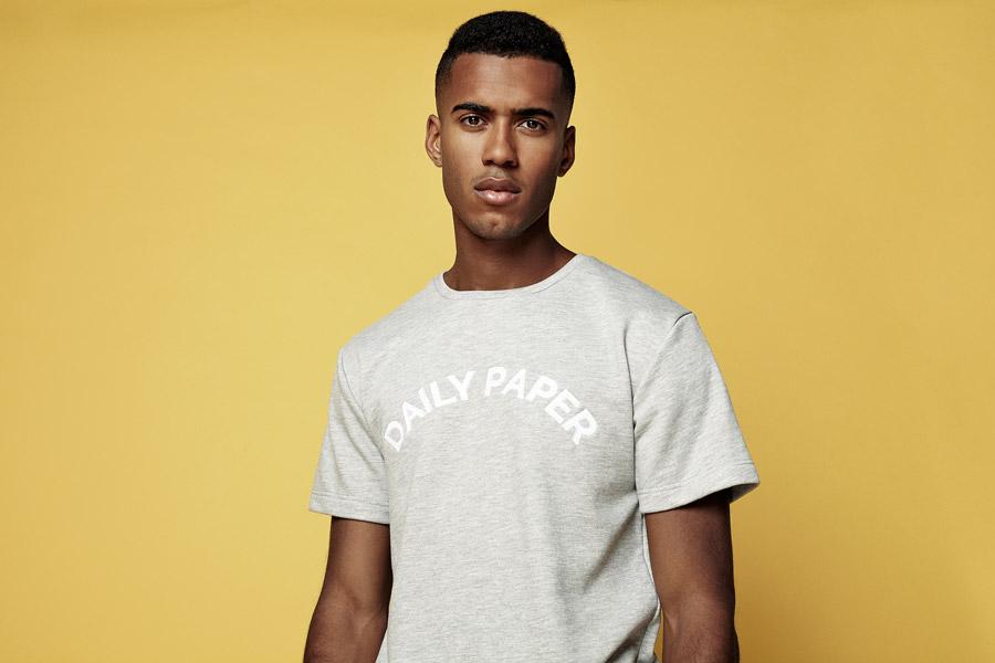 Daily Paper — šedé tričko — pánské — jarní/letní oblečení 2016