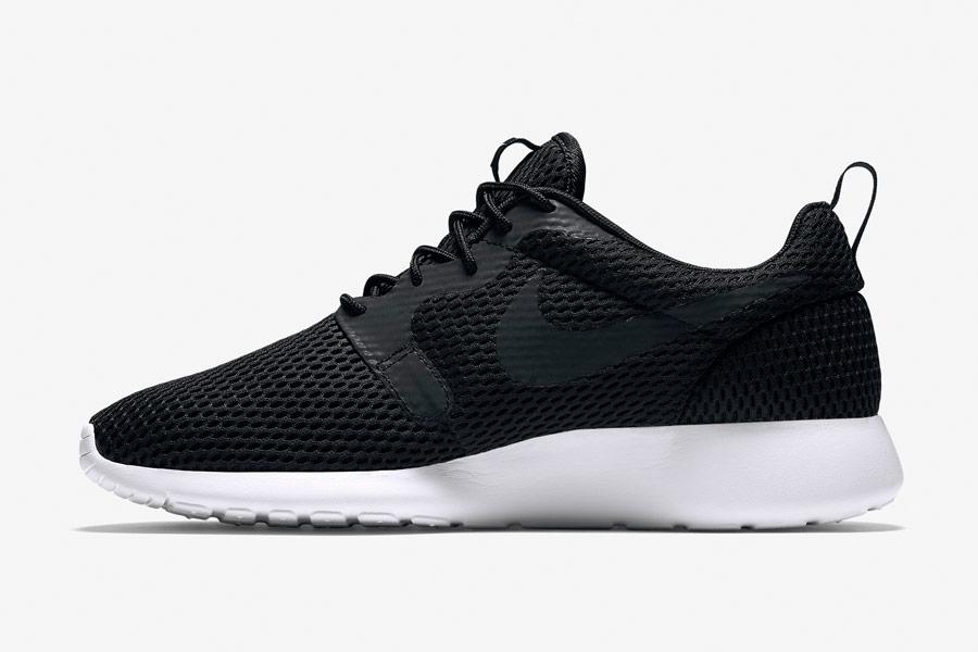 Nike Roshe One Hyper Breathe — pánské tenisky, boty — černé, black — běžecké sneakers