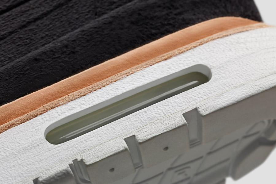 NikeLab Air Max 1 Royal — detail podrážky, vzduchový polštář — Nike Air Max 1