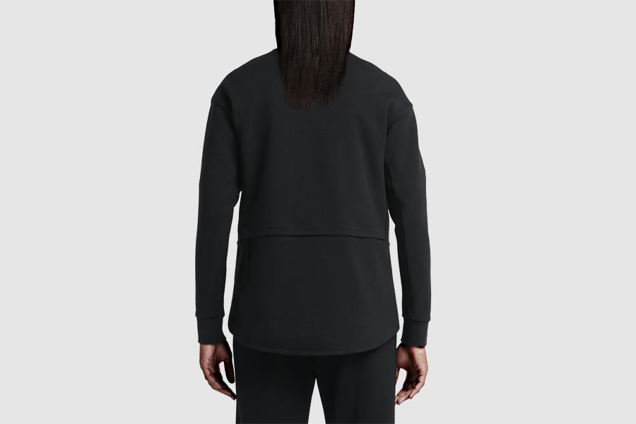 NikeLab Transform Jacket — dámská sportovní bunda — černá — dvojitá bunda
