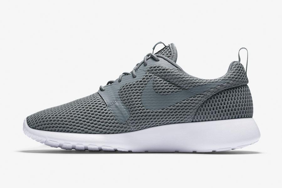 Nike Roshe One Hyper Breathe — pánské tenisky, boty — šedé, grey — běžecké sneakers