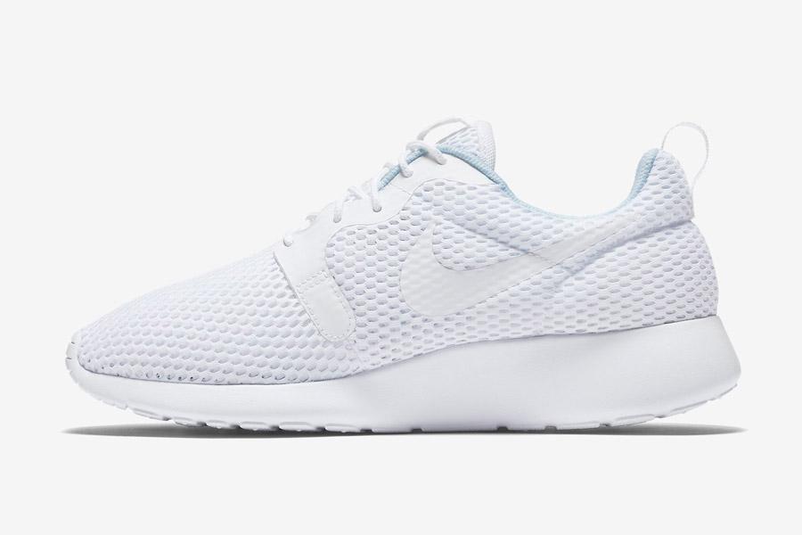 Nike Roshe One Hyper Breathe — dámské tenisky, boty — bílé, white — běžecké sneakers