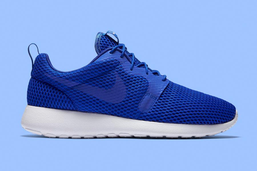Nike Roshe One Hyper Breathe — pánské boty, tenisky — bmodré, blue — běžecké sneakers