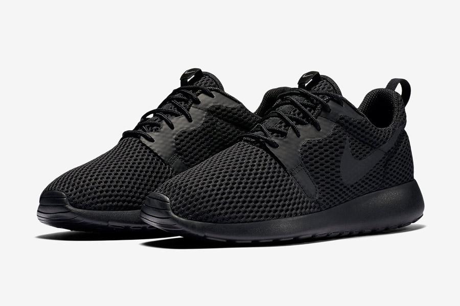 Nike Roshe One Hyper Breathe — dámské boty, tenisky — černé, black — běžecké sneakers