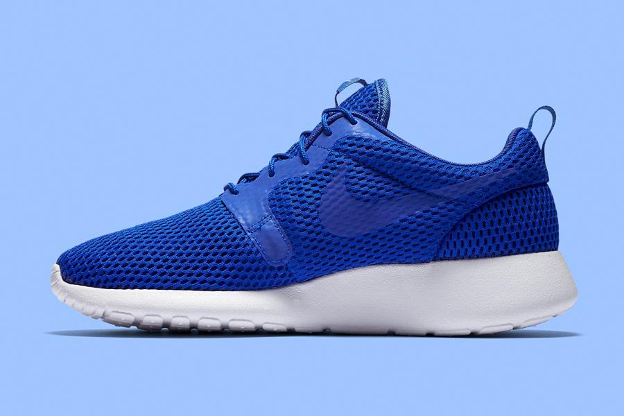 Nike Roshe One Hyper Breathe — pánské tenisky, boty — bmodré, blue — běžecké sneakers