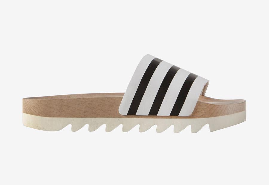 adidas Originals adilette Wood — dřevěné dámské pantofle