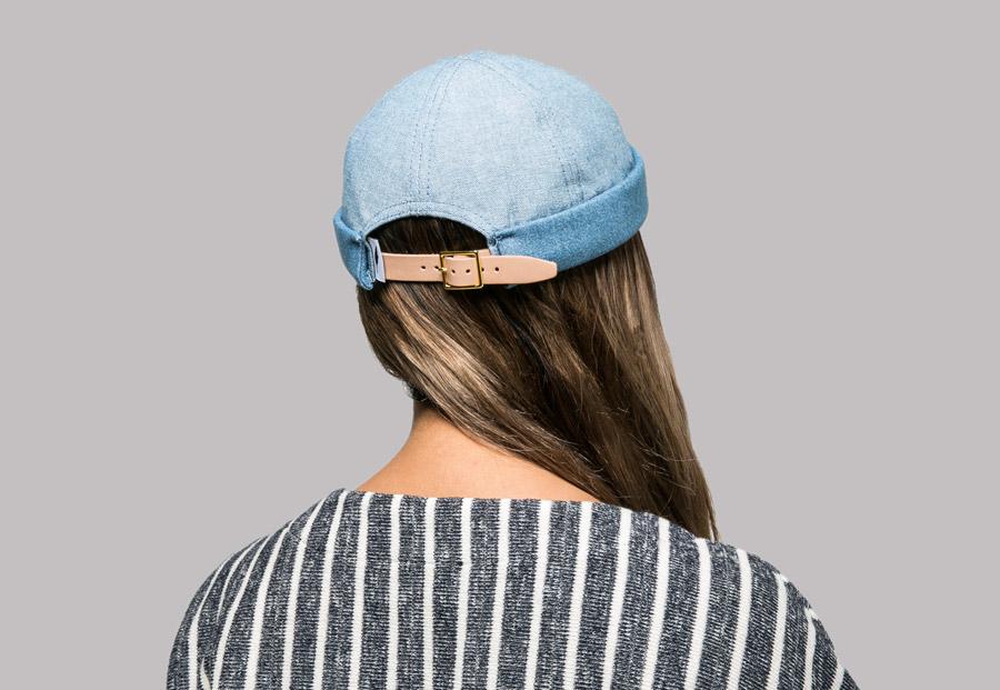 Publish — Roll Caps — snapback čepice bez kšiltu — barevné — plátěné — snapback hat