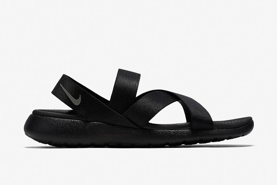 Nike Roshe One Sandals WMNS — dámské sandály, letní — černé