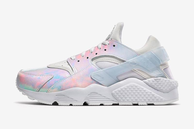 Nike Air Huarache Premium iD Iridescent — duhové boty — sneakers, tenisky — dámské, pánské