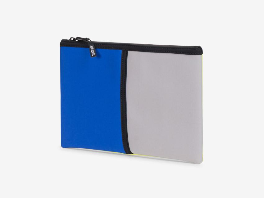 Herschel Supply — Network Pouch — neoprenové psaníčko, taštička — modré, šedé, pastelové