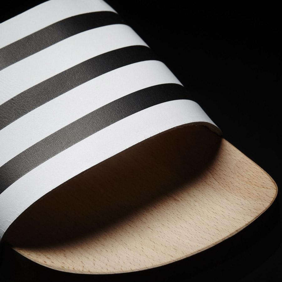 adidas Originals adilette Wood — dámské nazouváky — dřevěné pantofle — černo-bílé — dřeváky