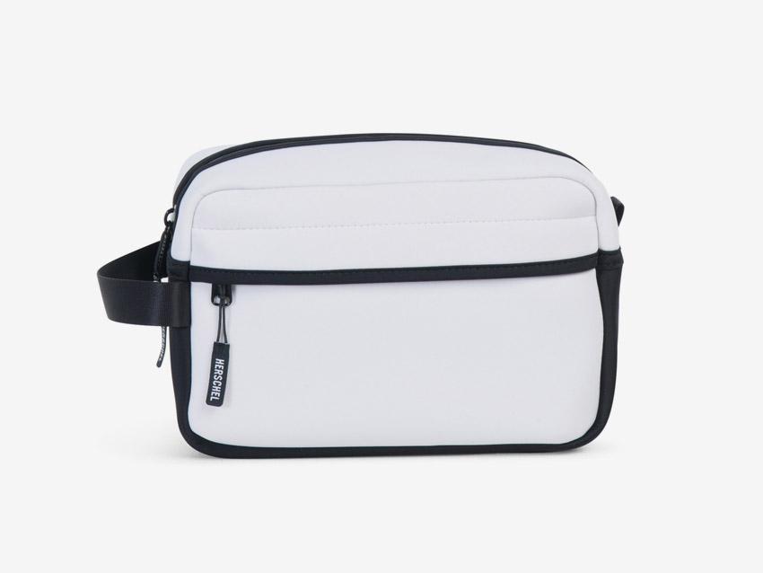Herschel Supply — Chapter Travel Kit — cestovní toaletní taštička, pouzdro — bílá