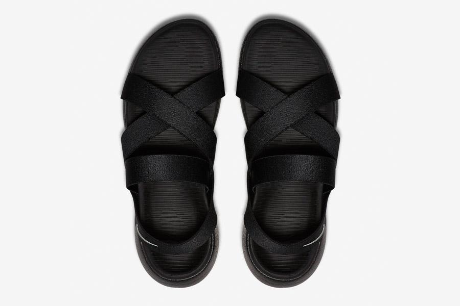 Nike Roshe One Sandals WMNS — dámské sandály, letní — černé — horní pohled