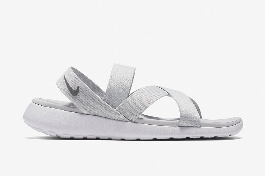 Nike Roshe One Sandals WMNS — dámské sandály, letní — bílé