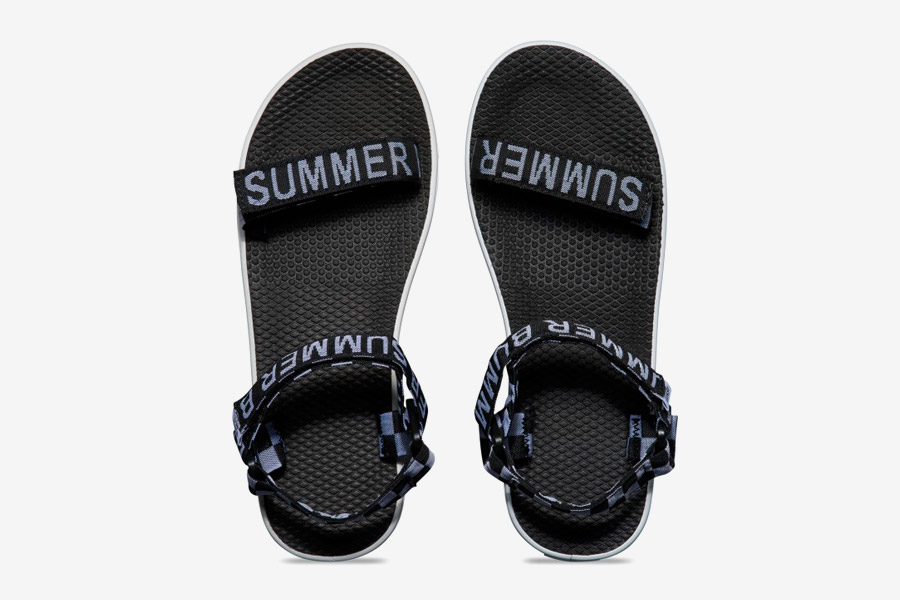 Vans x Summer Bummer — dámské sandály Sandalia Sandals — černé-bílé