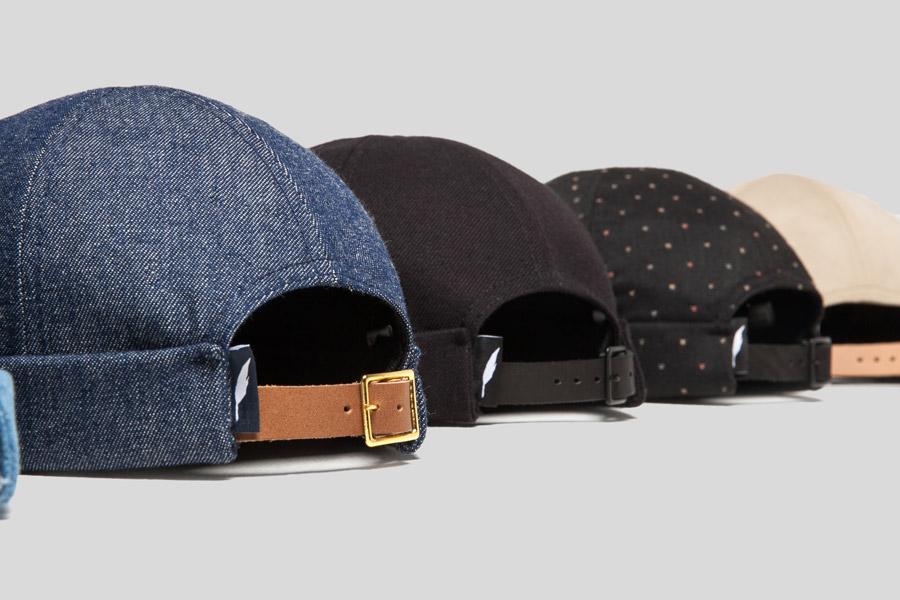 Publish — Roll Cap — snapback čepice bez kšiltu — barevné — plátěné — snapback hat