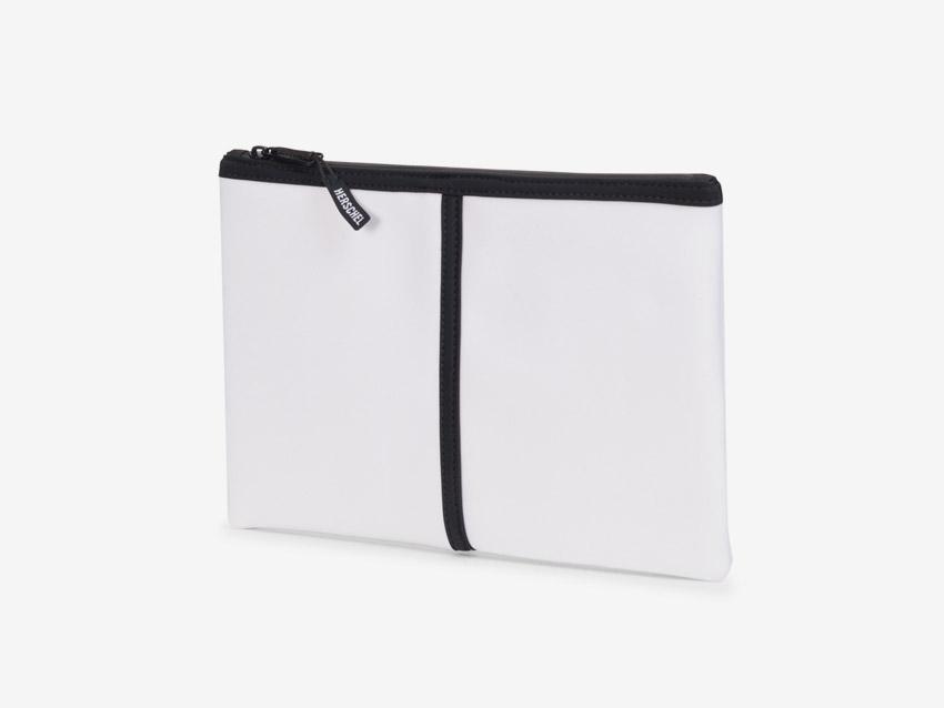 Herschel Supply — Network Pouch — neoprenové psaníčko, taštička — bílé