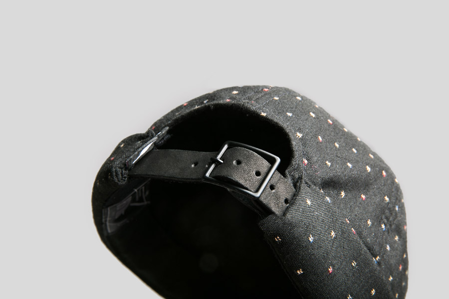 Publish — Bruk Roll Cap — snapback čepice bez kšiltu — černá — plátěná — snapback hat