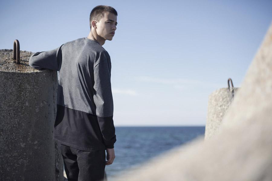 Backyard Cartel — šedo-černé tričko — pánské — kolekce Rock