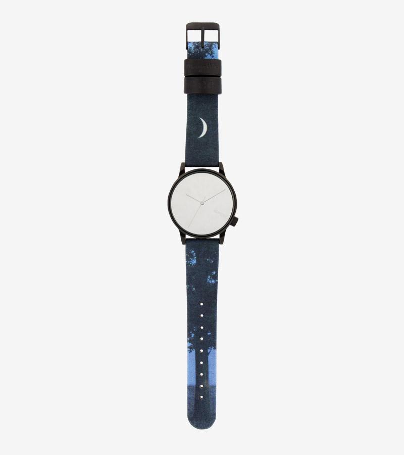 Komono x René Magritte — hodinky Winston — pánské, dámské — surrealistické motivy — Sixteenth of September — 16. září