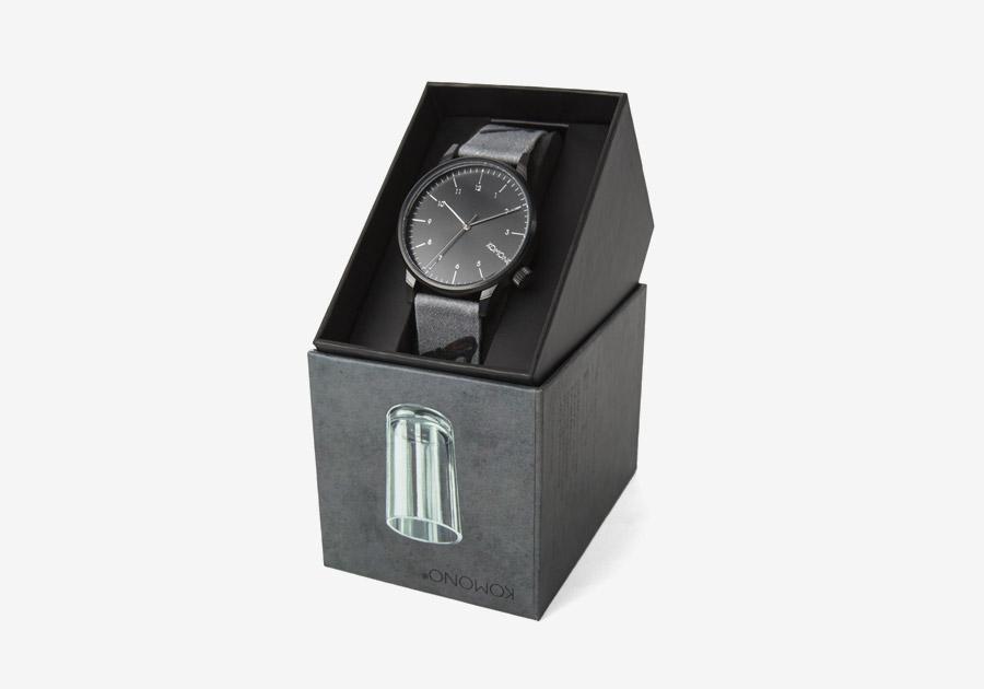 Komono x René Magritte — hodinky Winston — pánské, dámské — surrealistické motivy — The Dream's Key — Klíč ke snům