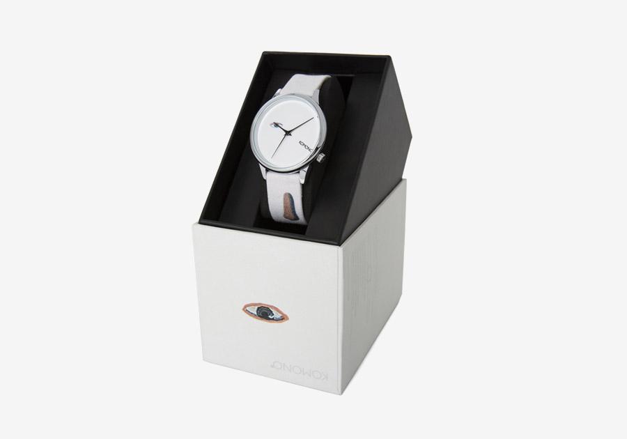Komono x René Magritte — hodinky Estelle — dámské — surrealistické motivy — The King's museum — Královo muzeum