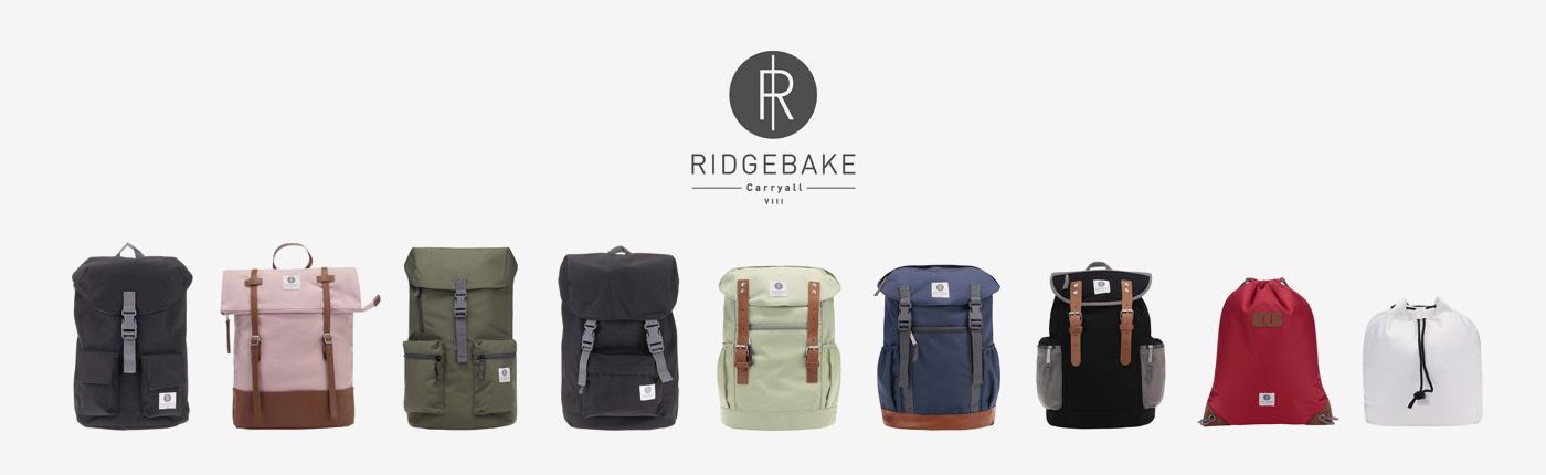 Ridgebake — plátěné batohy