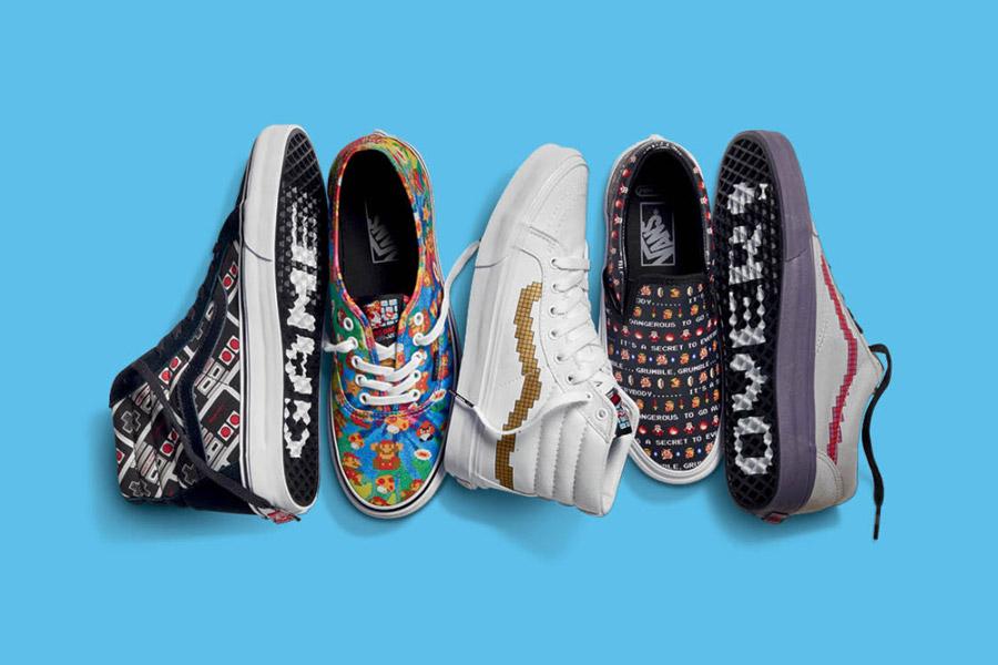 Vans x Nintendo — tenisky, kotníkové boty — dámské a pánské — geek