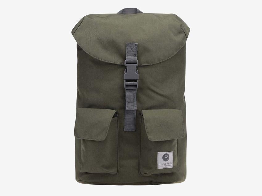 Ridgebake — plátěný batoh — Glance — zelený, army green