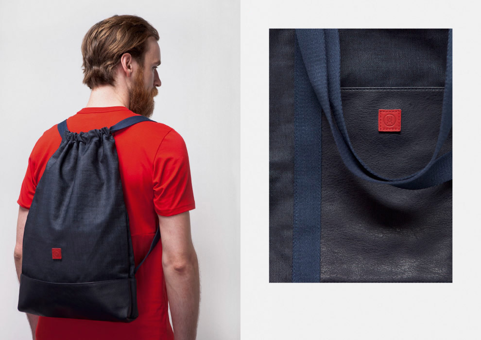 Ucon Acrobatics — batoh na záda, pytel — tmavě modrý