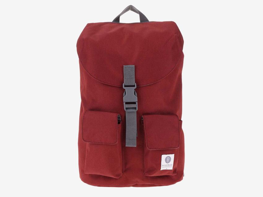 Ridgebake — plátěný batoh — Glance — červený