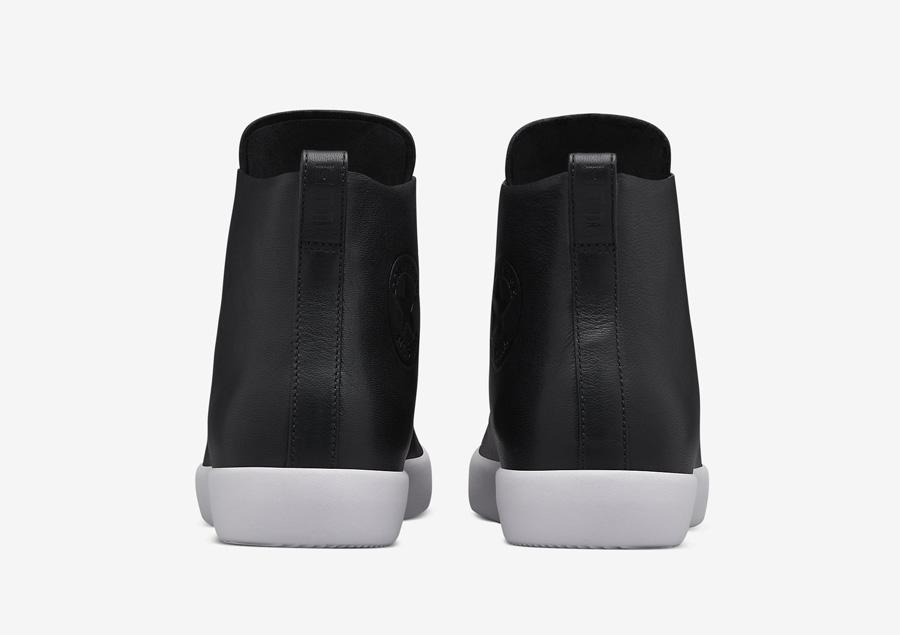 Converse All Star Modern High Top HTM — kotníkové boty — dámské, pánské — černé — zadnní pohled — Conversky