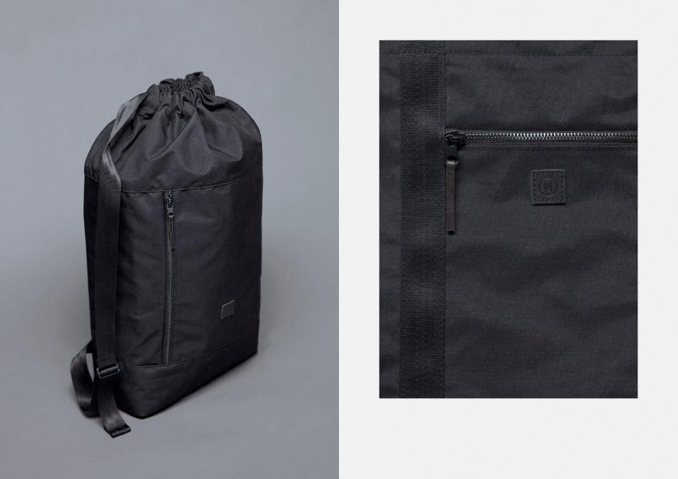 Ucon Acrobatics — pytel, batoh — černý