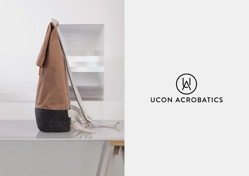 Ucon Acrobatics — plátěný batoh na záda — hnědý