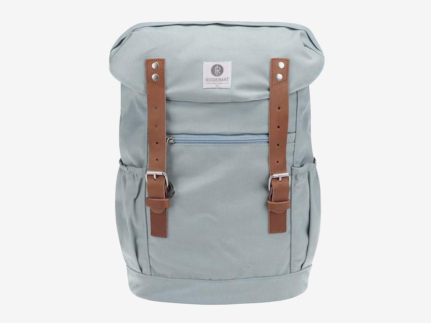 Ridgebake — plátěný batoh — Otone Canvas — světle modrý, pastelový