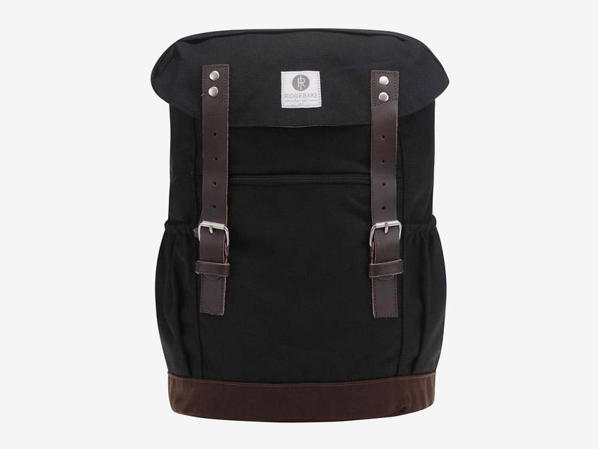 Ridgebake — plátěný batoh — Otone Canvas — černý