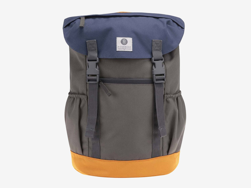 Ridgebake — plátěný batoh — Otone — modro-šedo-zelený