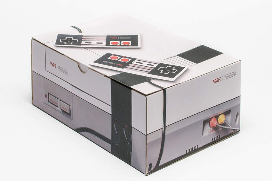 Vans x Nintendo — krabice na boty — Nintendo Console