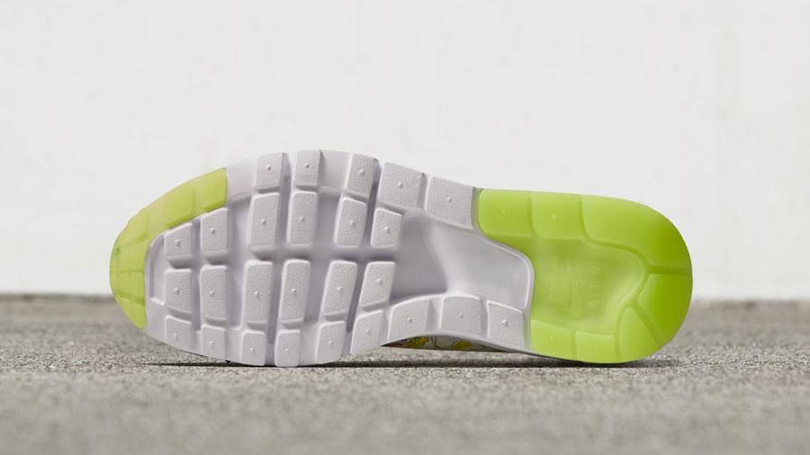 NikeCourt x Liberty Air Max 1 — boty, tenisky — dámské — bílé — barevný rostlinný vzor