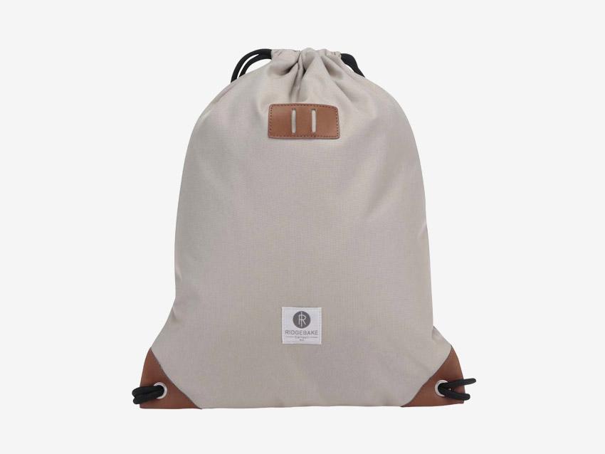 Ridgebake — plátěný batoh, pytel, vak — Rich Pauli — šedý