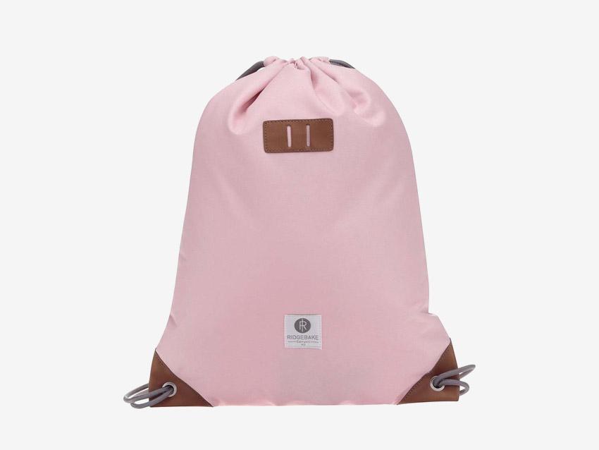 Ridgebake — plátěný pytel, batoh, vak — Rich Pauli — růžový