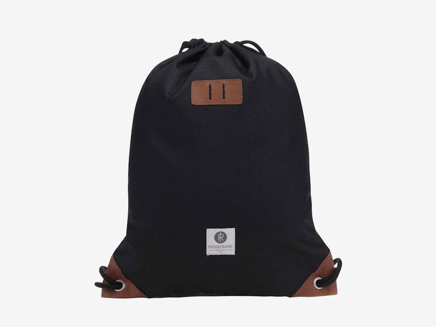 Ridgebake — plátěný vak, batoh, pytel — Rich Pauli — černý