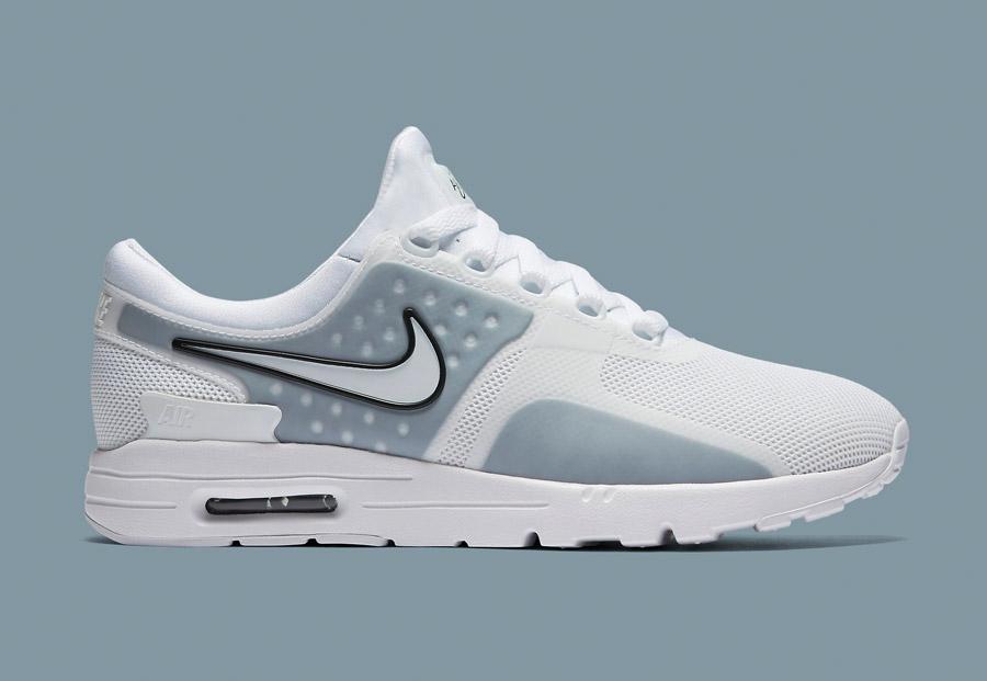 Dámské boty Nike Air Max Zero v šedo-bílém provedení 1bc21770d7