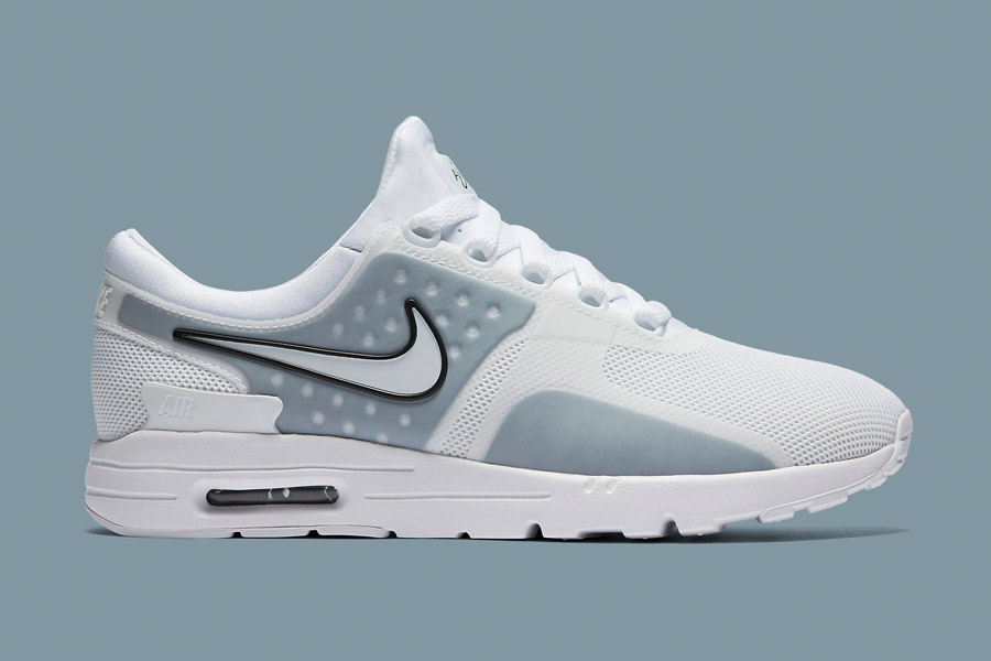 Nike Air Max Zero — bílé (white) — dámské tenisky — sneakers — boty 9a4ae2c74e