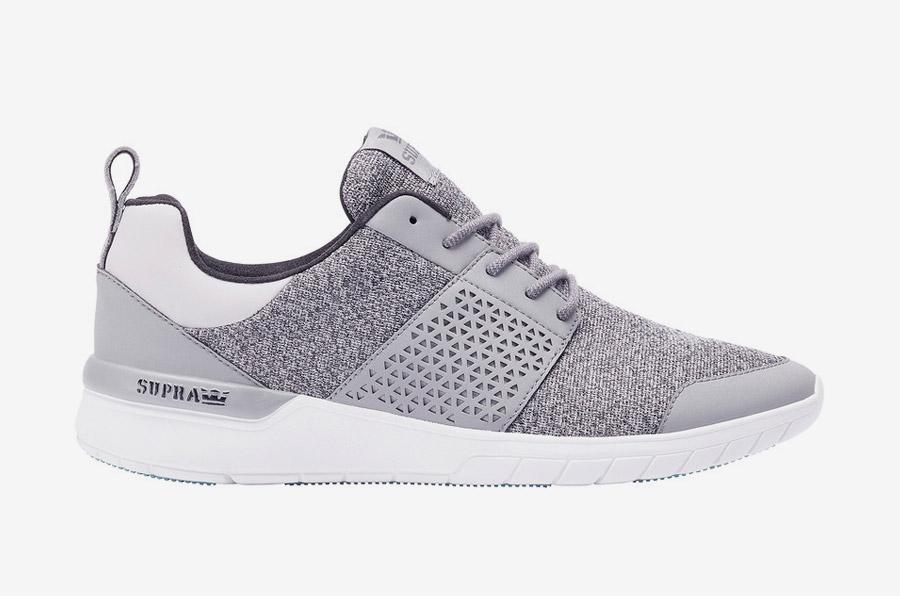 Supra Scissor — boty — tenisky — sneakers — pánské, dámské — šedé