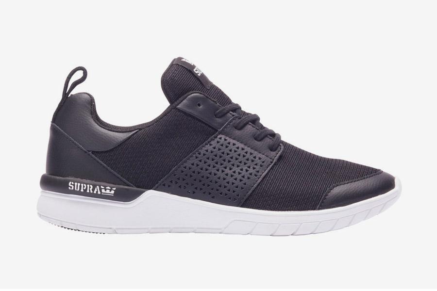 Supra Scissor — tenisky — boty — sneakers — dámské, pánské — černé