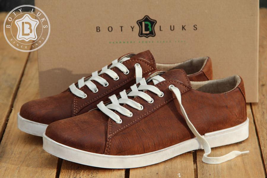 BotyLuks — české tenisky — české boty — kožené — vycházkové tenisky — pánské, dámské — hnědé